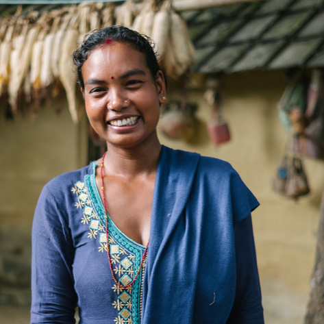Bimala Chaudhary - Mom and Nutrition Champion in Nepal
