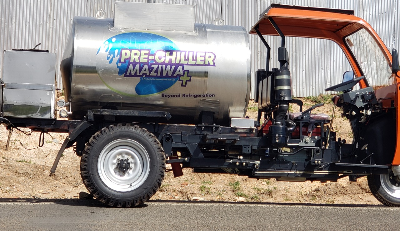 MaziwaPlus Pro for chilling and transporting milk