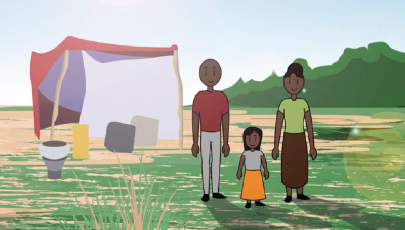 Closing Gaps Through Animation to Build Food Security